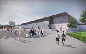 Centre sportif à Yverdon – 11 ème rang