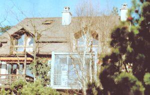 Fermeture d'un balcon à Bussigny