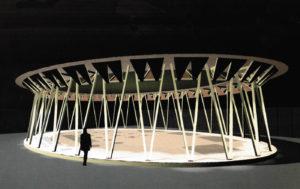 Pavillon d'honneur à Martigny