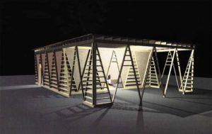 Pavillon d'exposition à Martigny