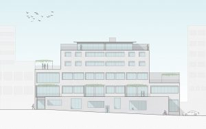 Bâtiment Lusso à Lausanne