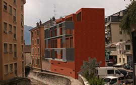 """Bâtiment """"DUNETTE"""" à Montreux"""