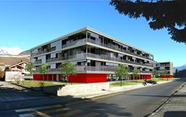 45 logements à Sion