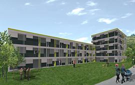 36 logements à Bex