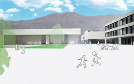 Ecole et locaux pour enfants