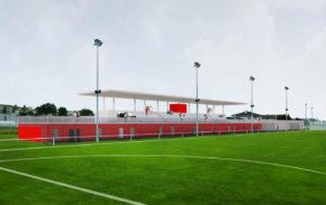 Stade Football à Düdingen