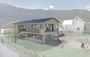 Extension d'une maison à Chalais